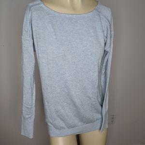 Lululemon - pale blue sweater
